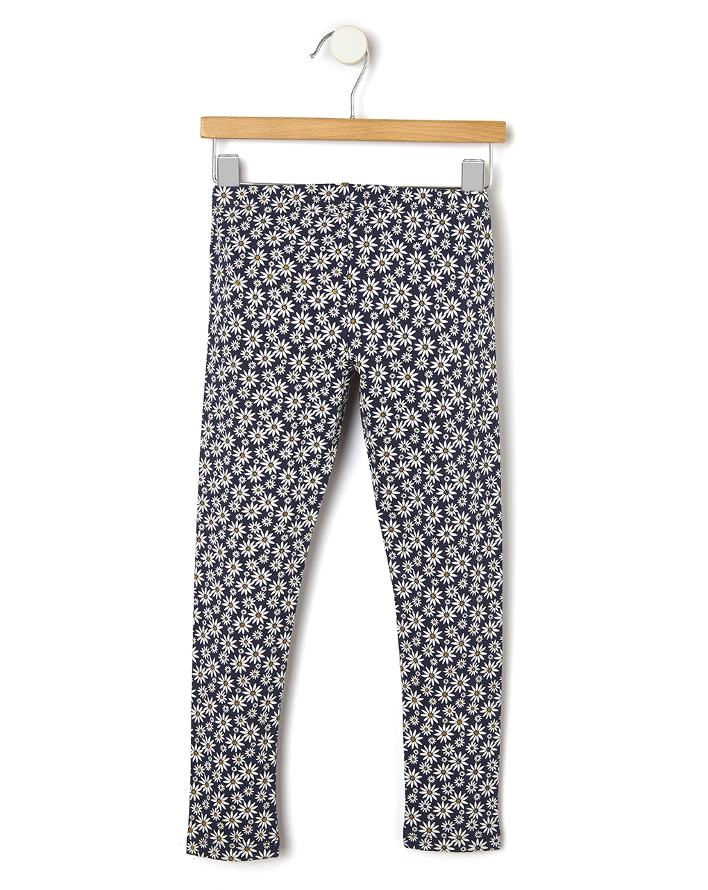 Leggings jersey stretch con stampa allover fiori - Prénatal