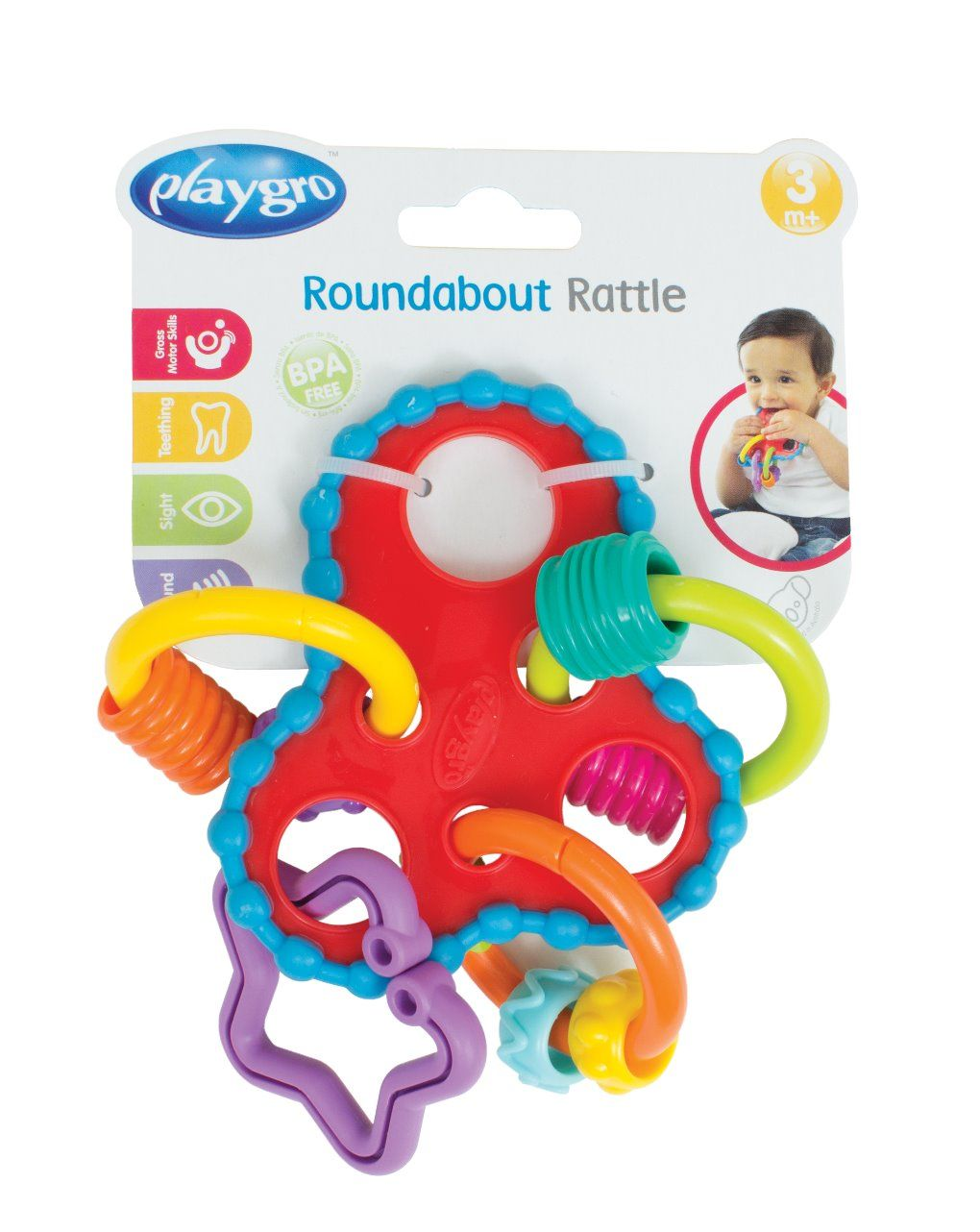 Playgro - roundabout rattle - Playgro
