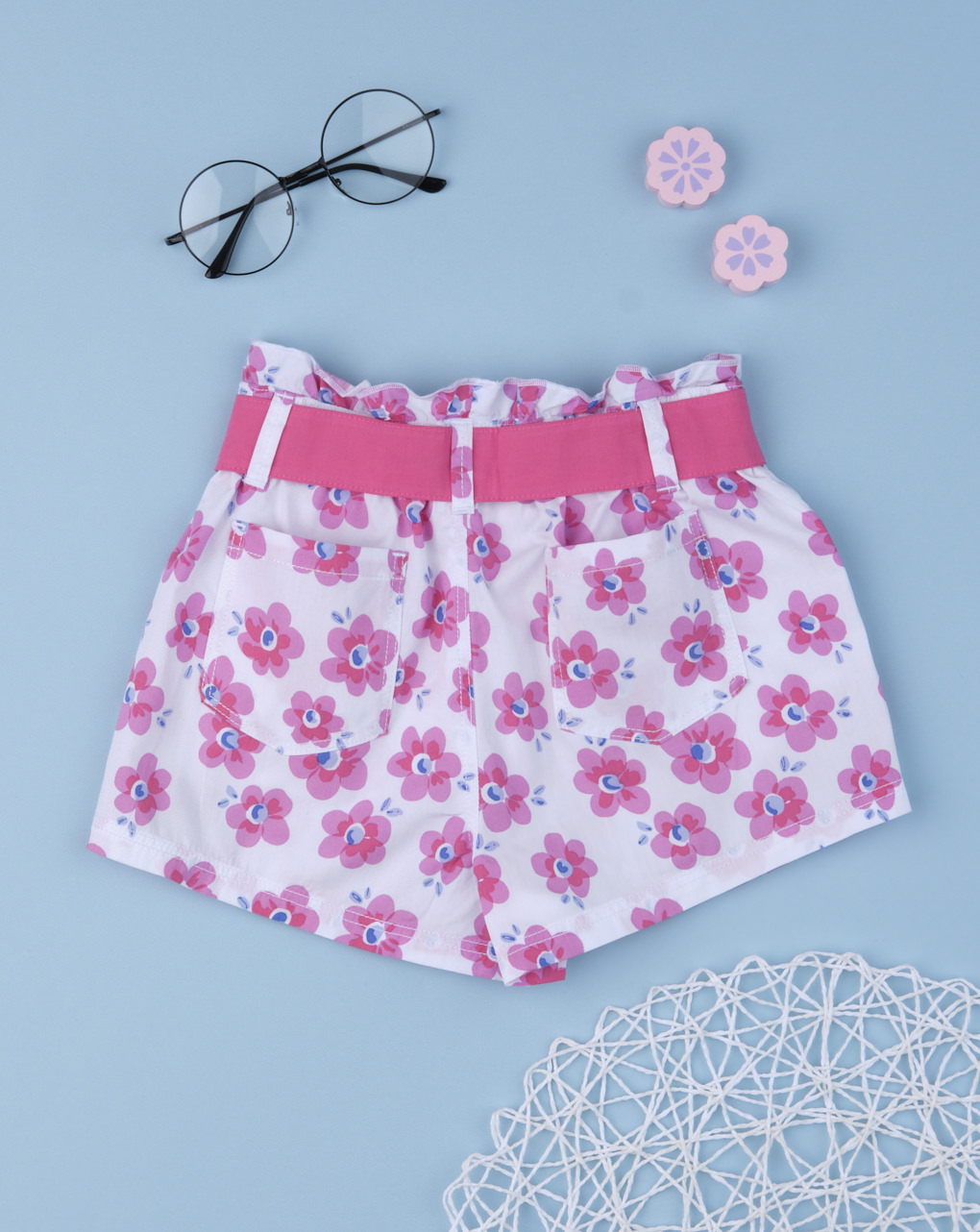 "Shorts bimba ""total flower"" - Prénatal"
