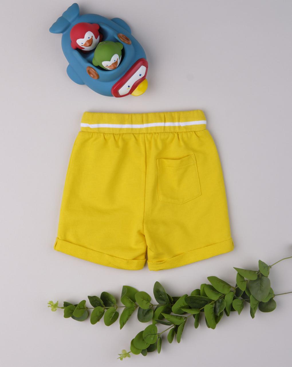 "Shorts boy ""gulp yellow"" - Prénatal"