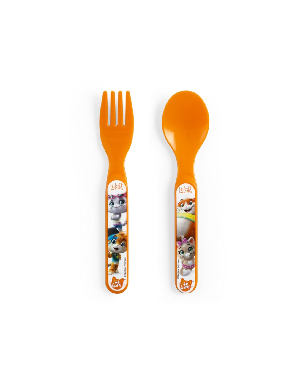 Set forchetta e cucchiaio 44 gatti - 44 Gatti