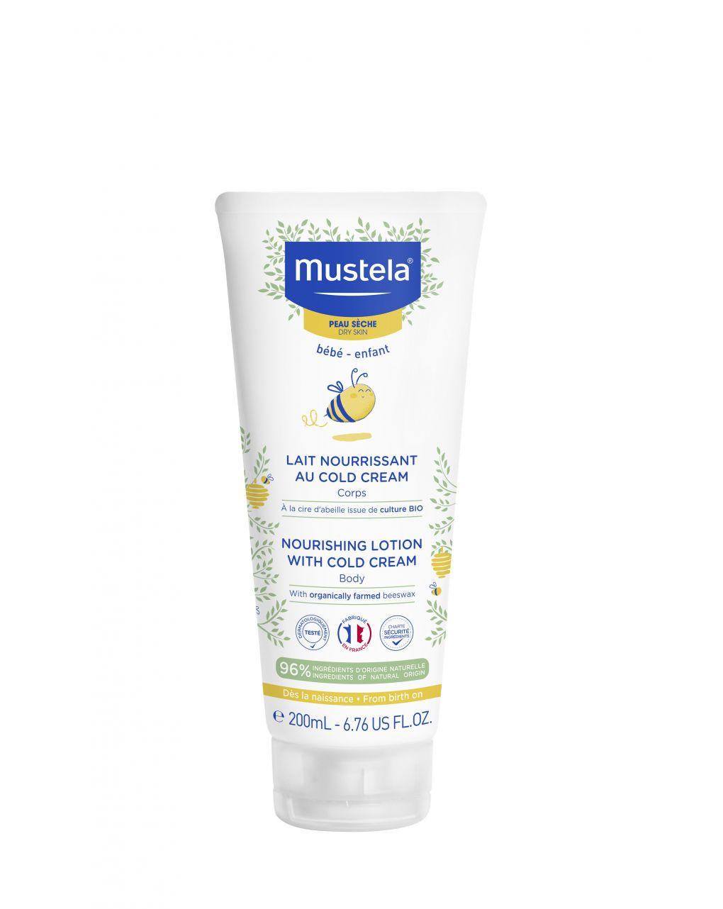 Latte nutriente alla cold cream 200ml - Mustela