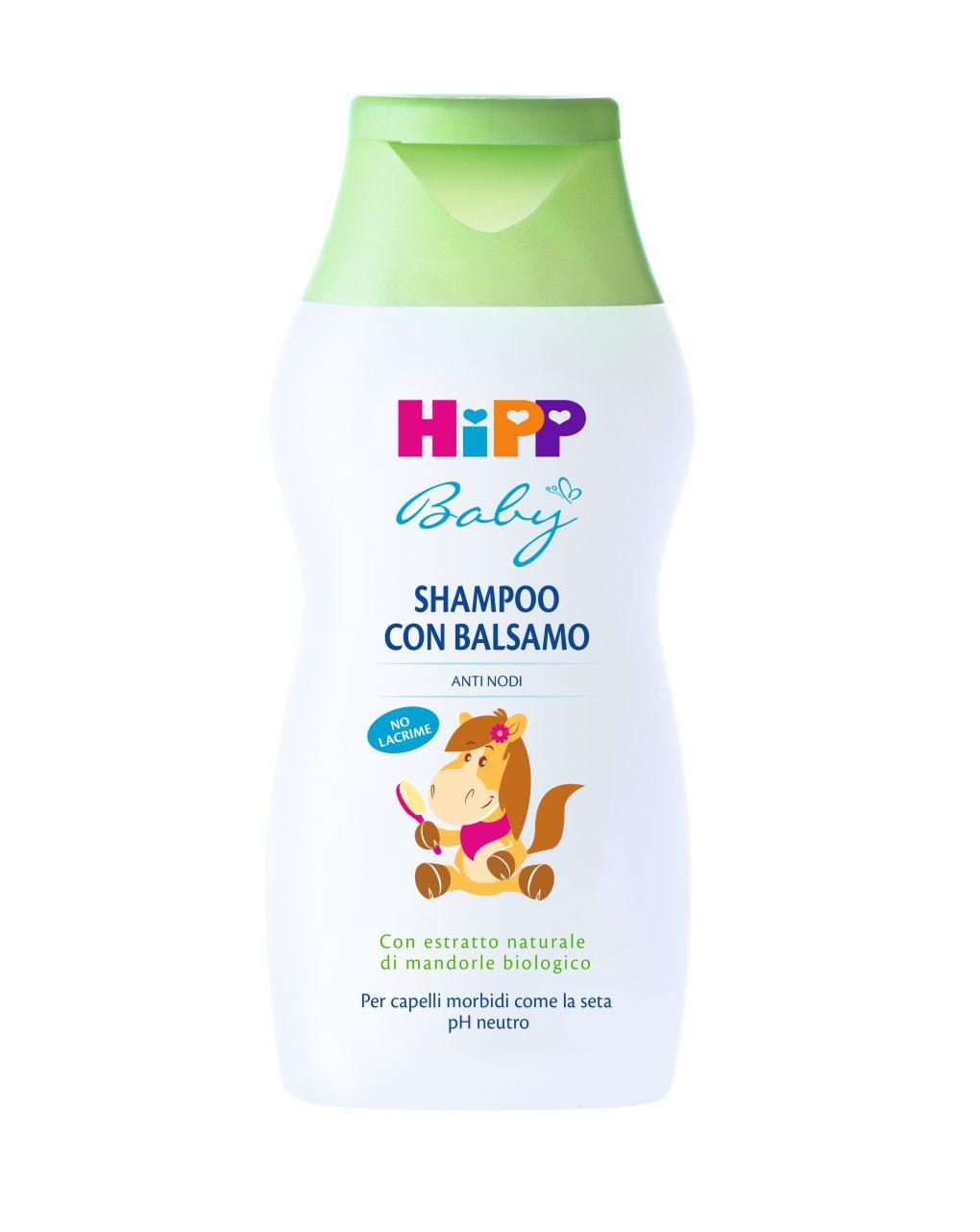 Shampoo con balsamo 200 ml - Hipp Baby