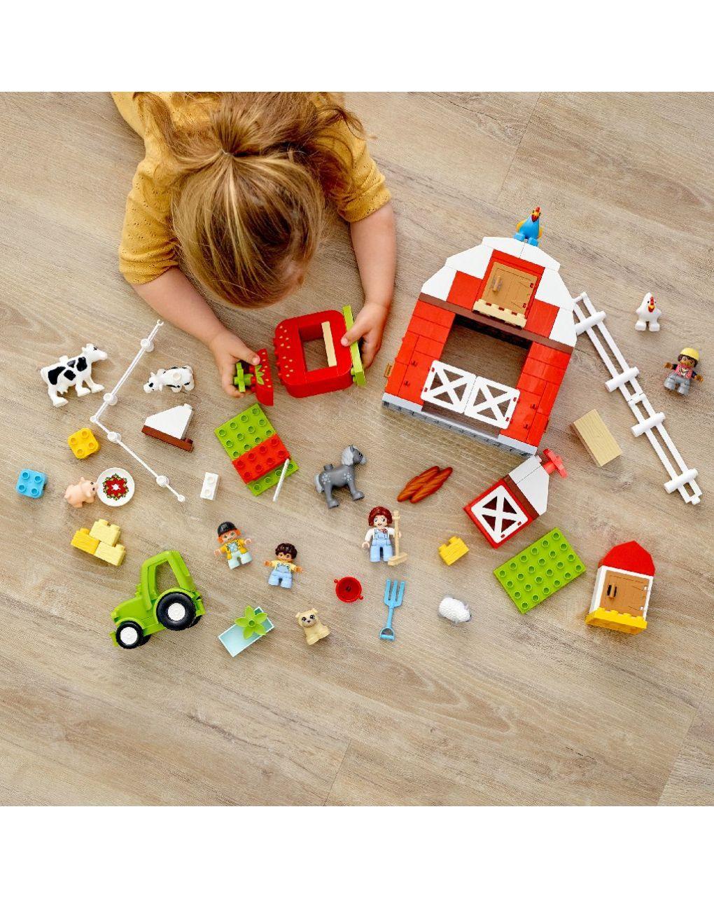 Lego duplo - fattoria con fienile, trattore e animaletti - LEGO Duplo