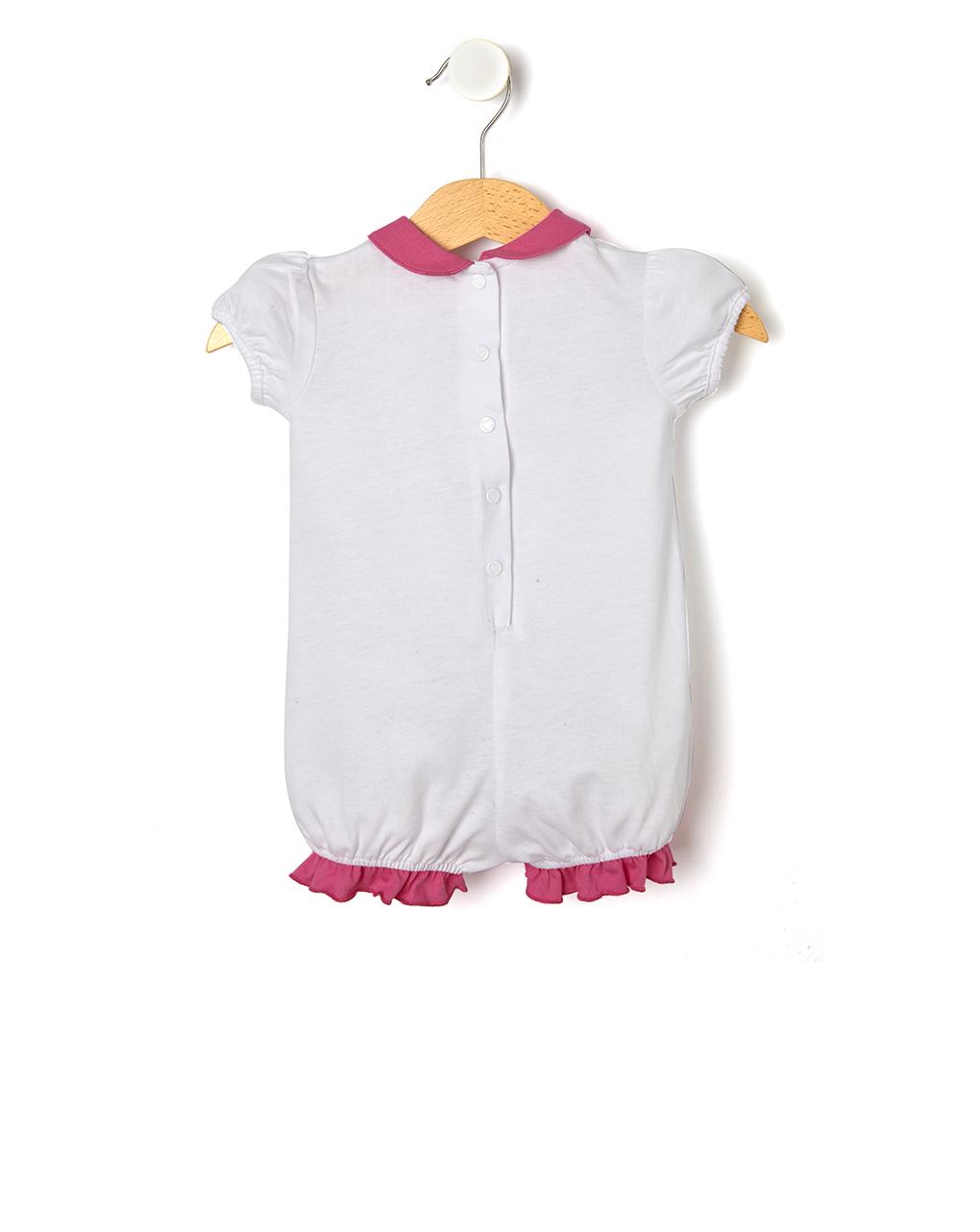Pagliaccetto in jersey con maxi stampa - Prénatal