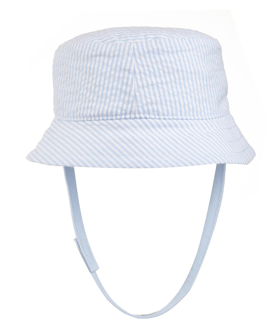 Cappellino a righe con ricamo - Prénatal