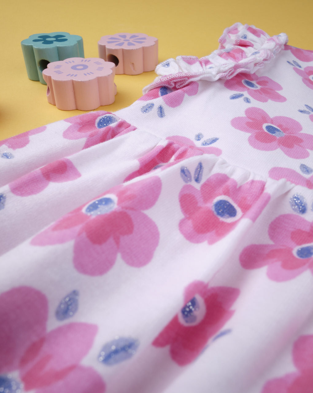 "Abito girl ""pink flower"" - Prénatal"