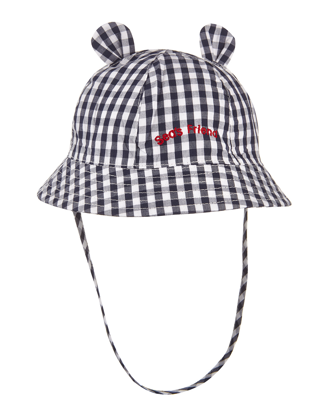 Cappellino popeline vichy - Prénatal