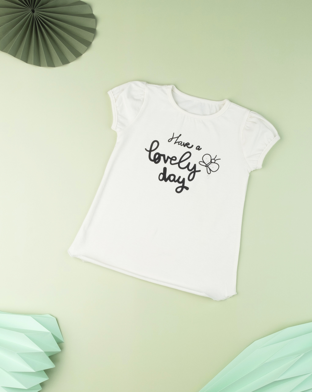 "T-shirt kid girl ""have a lovely day"" - Prénatal"