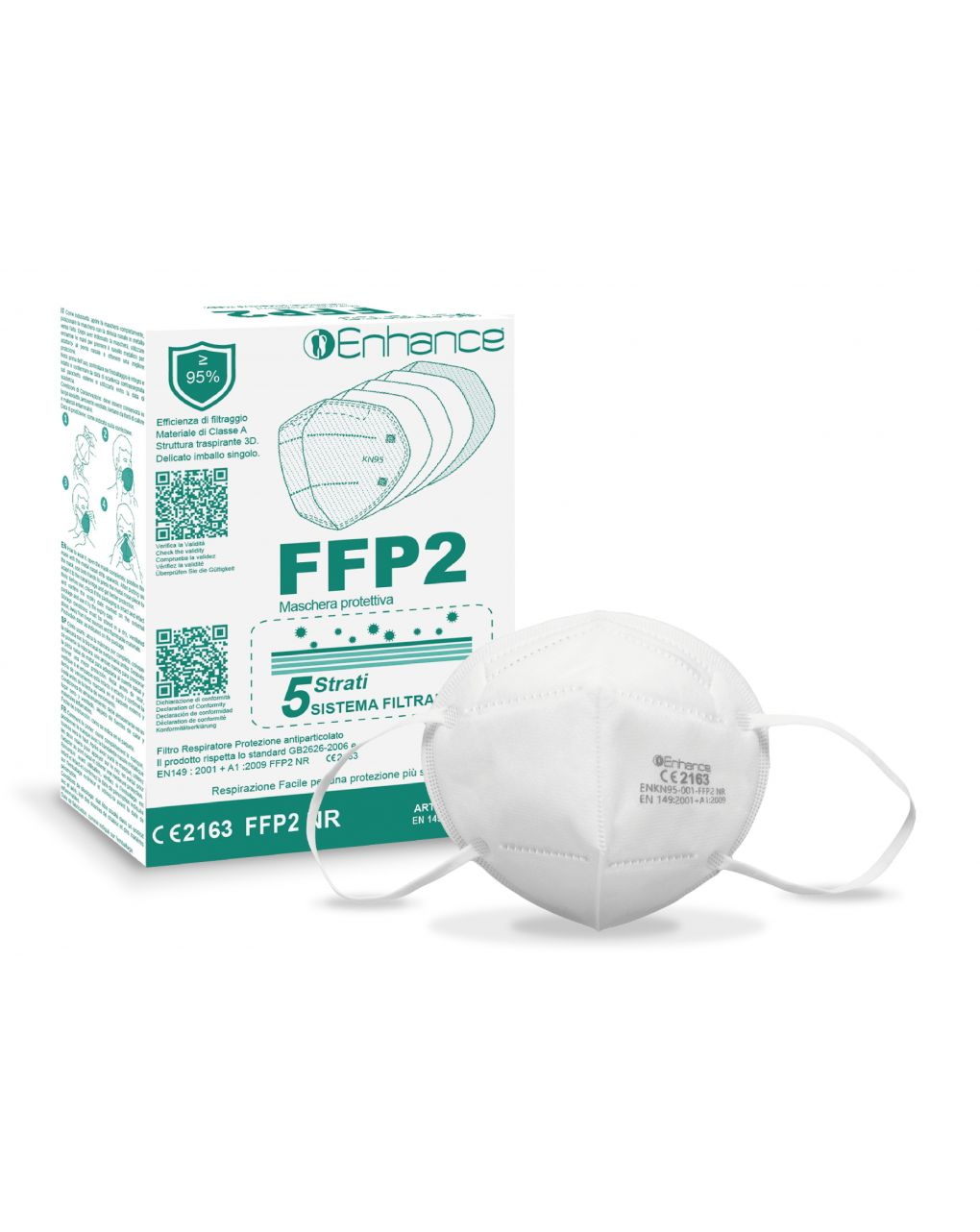 Mascherina ffp2 enhance - Enhance