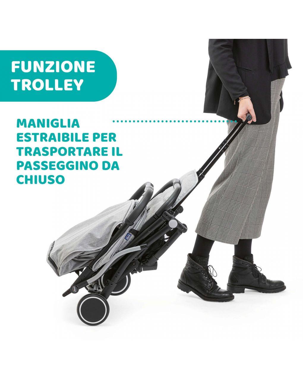 Passeggino trolley me light grey - Chicco