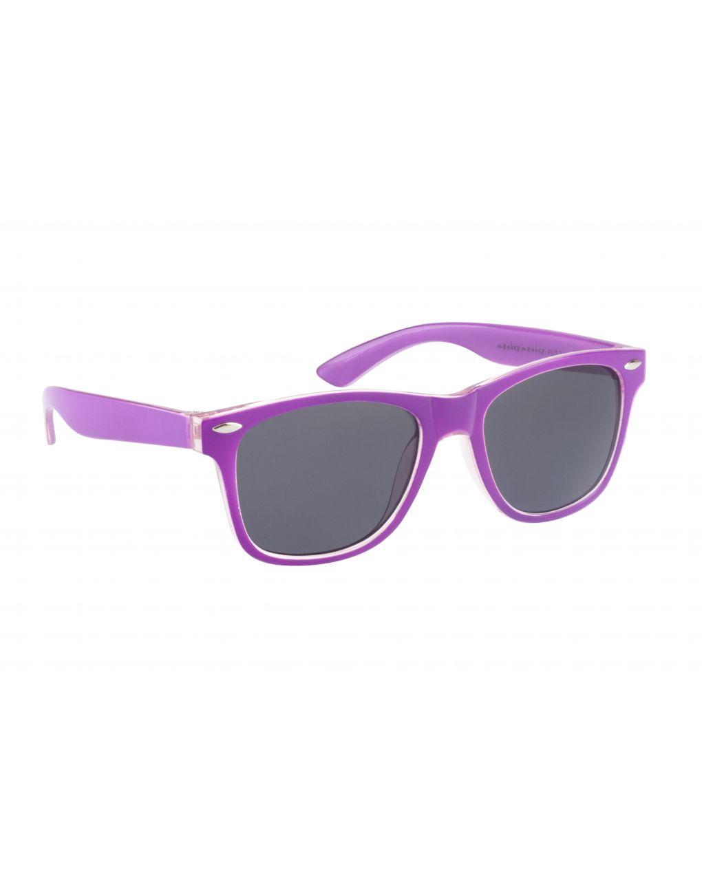 Occhiali da sole viola rosa - Monkey Monkey