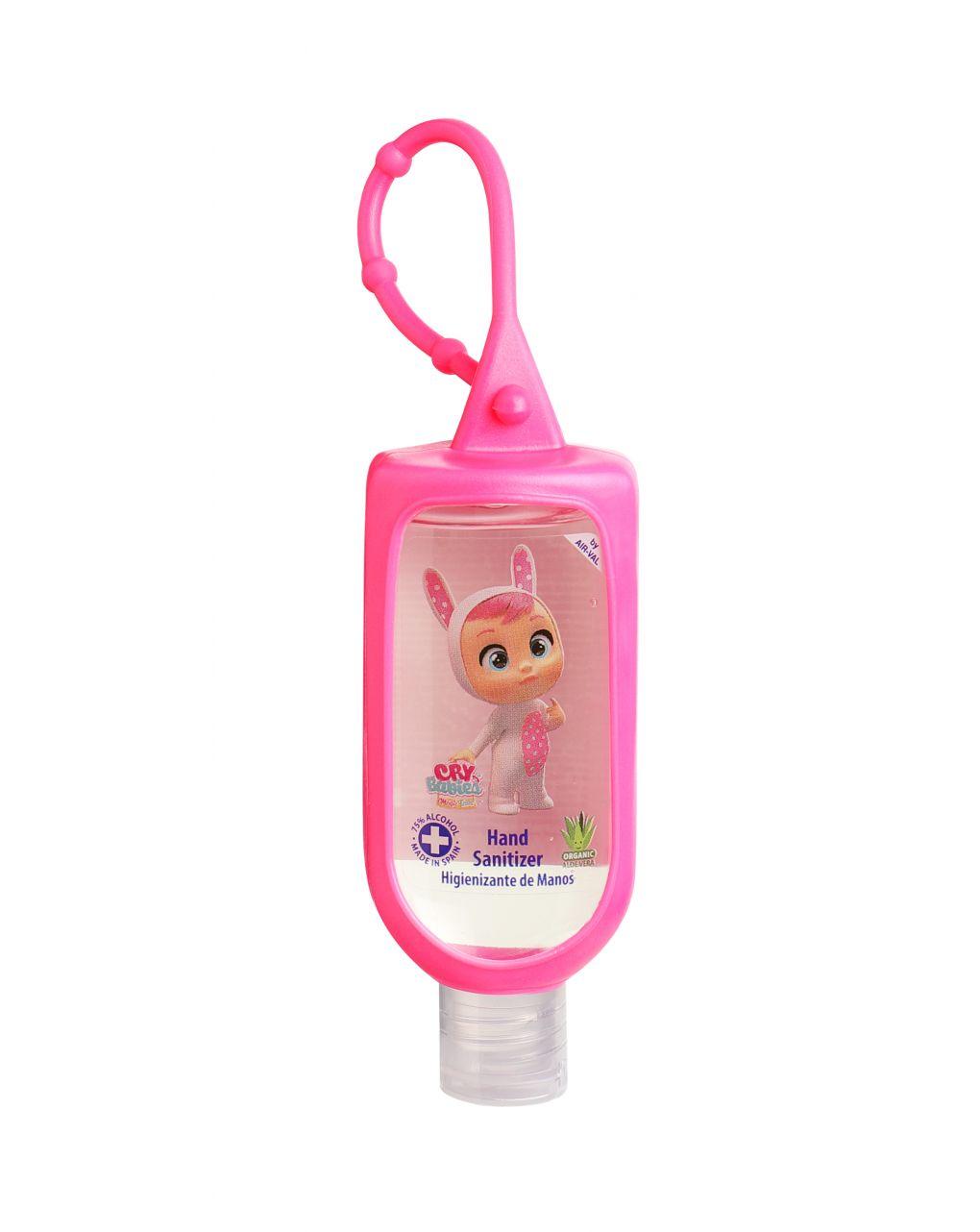Cry babies gel igienizzante mani 60 ml con alcool 75% vol con gancio - Cry babies