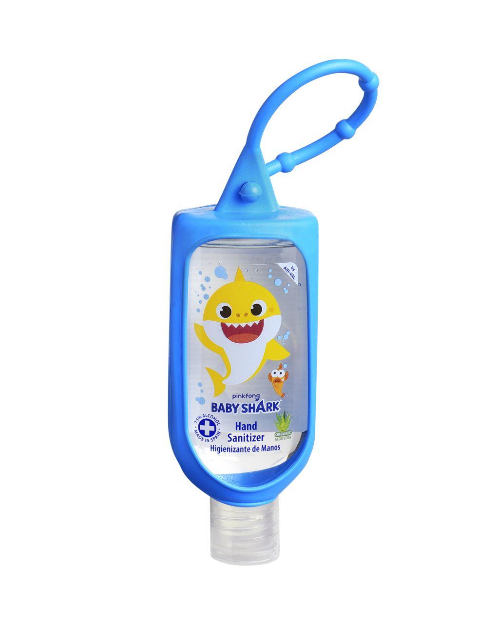 Baby shark gel igienizzante mani 60 ml con alcool 75% vol. con gancio - Baby Shark