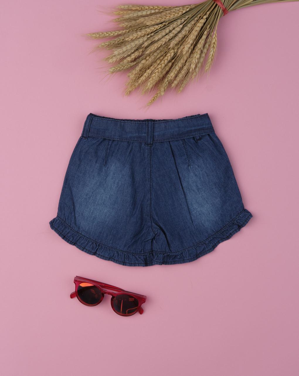 "Shorts bimba ""blu denim"" - Prénatal"