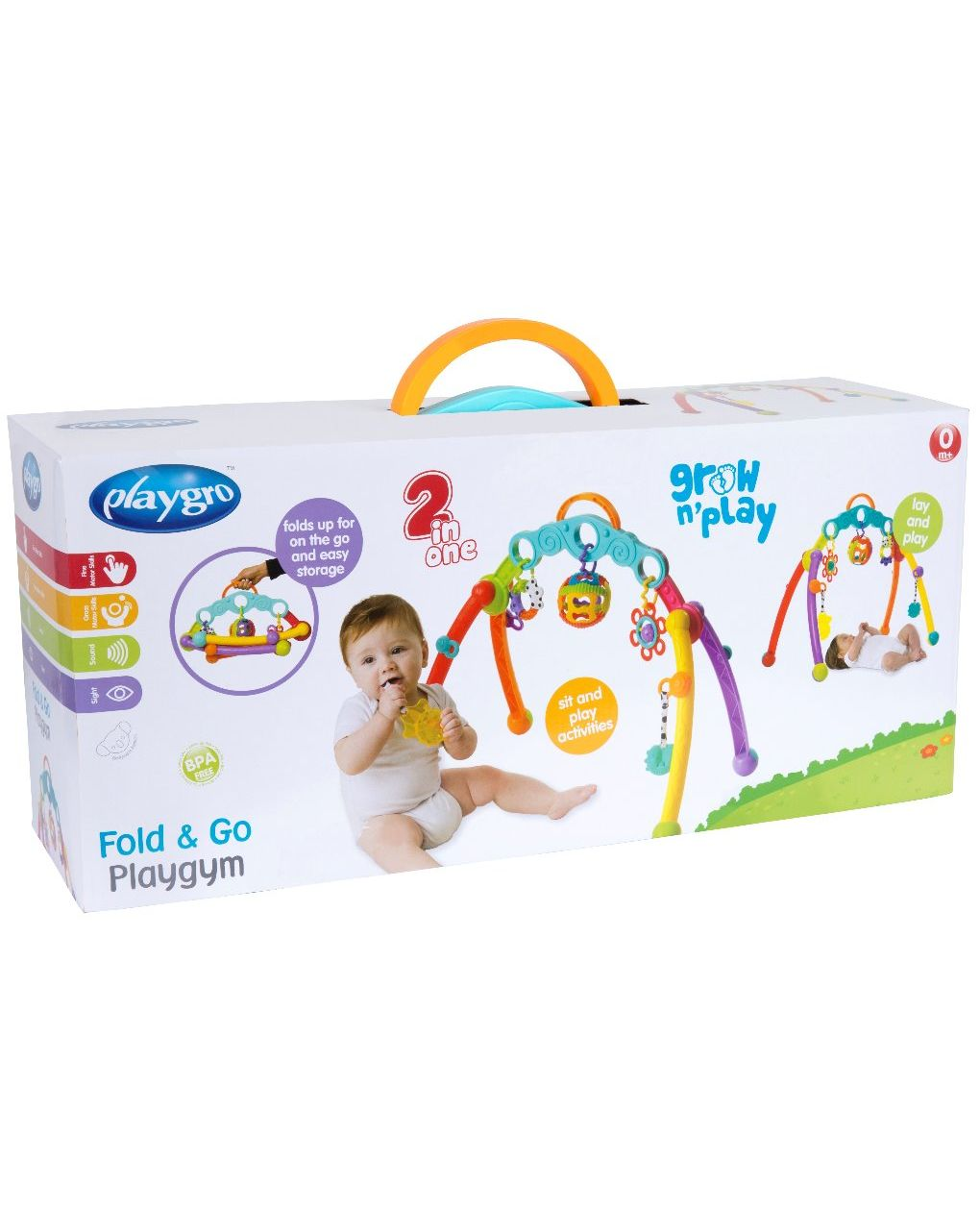 Playgro - fold and go playgym - Playgro