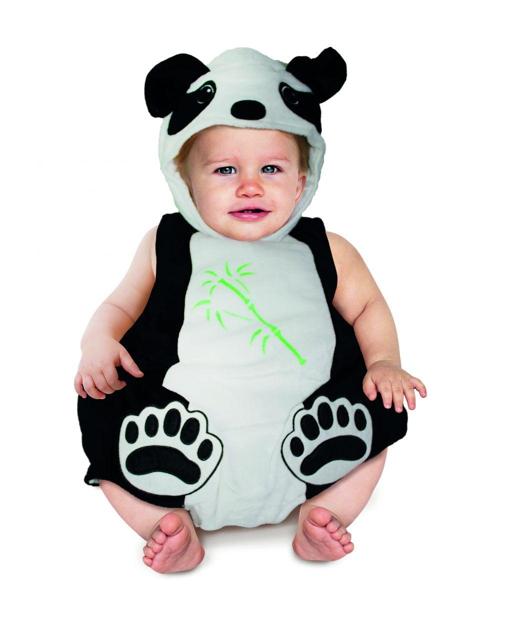 Costume panda baby 12 mesi - Carnaval Queen