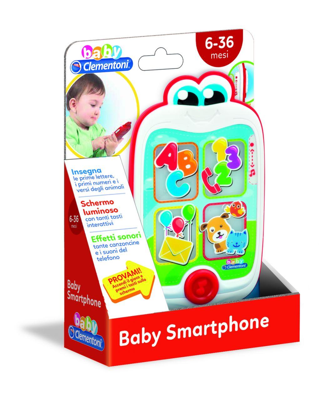 Baby clementoni - baby smartphone - Clementoni
