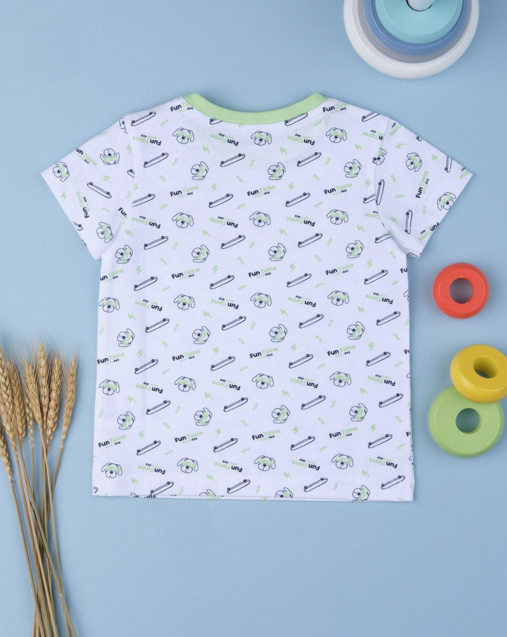 """T-shirt boy """"funny time"""" - Prénatal"""