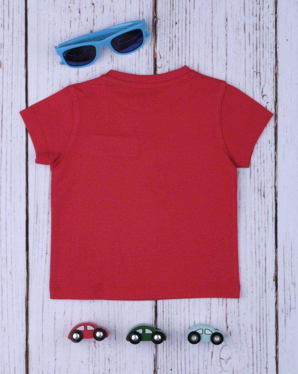 T-shirt boy red - Prénatal