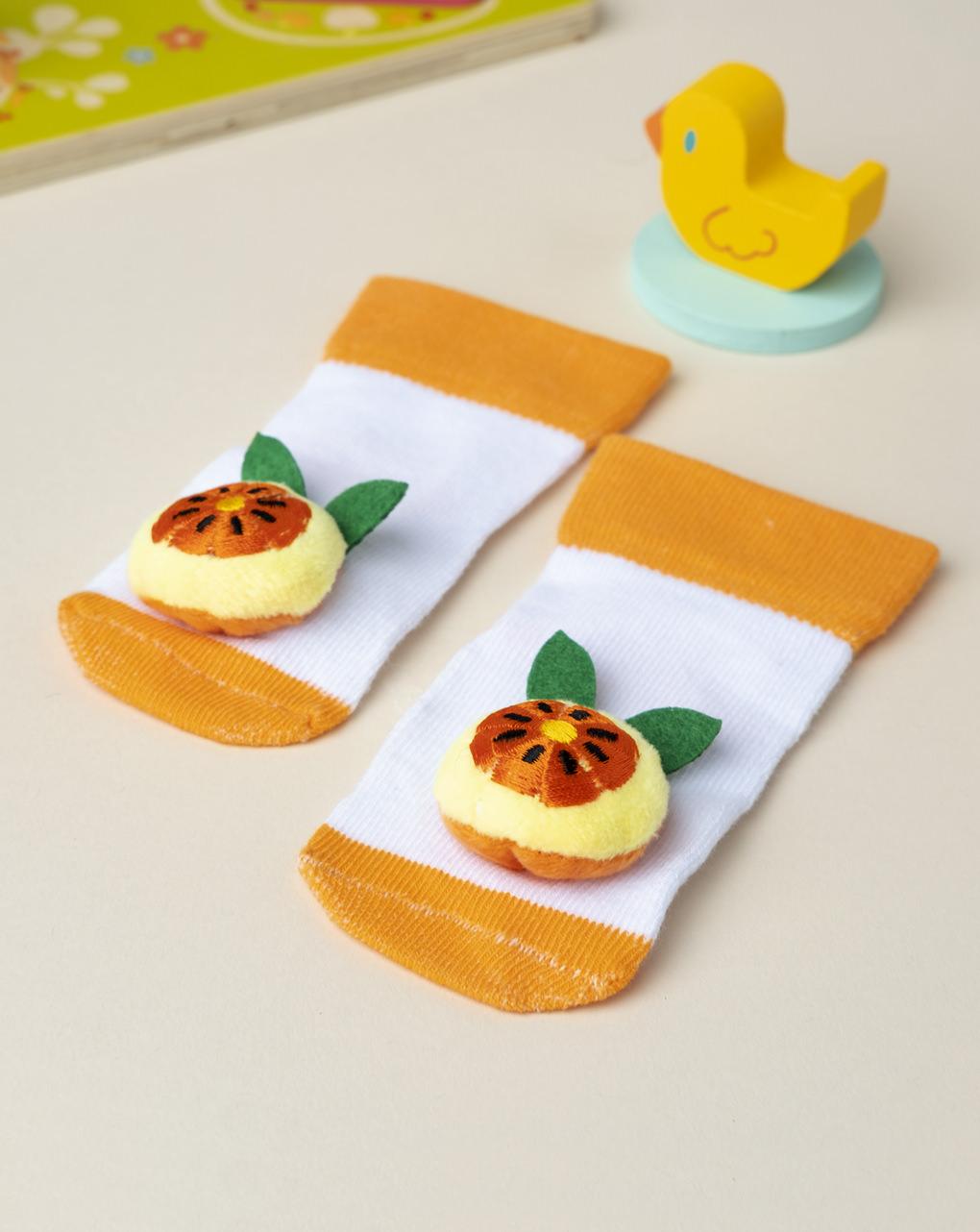 """Calzine boy """"orange"""" - Prénatal"""