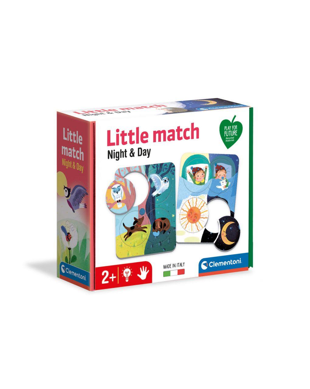 Clementoni - little match giorno & notte - Clementoni