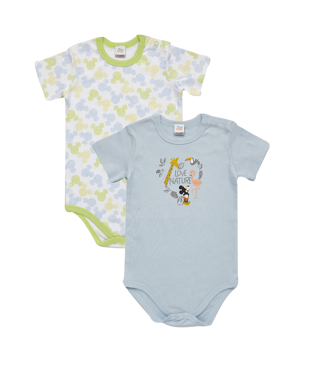Pack 2 body mickey mouse - Essential by Prénatal