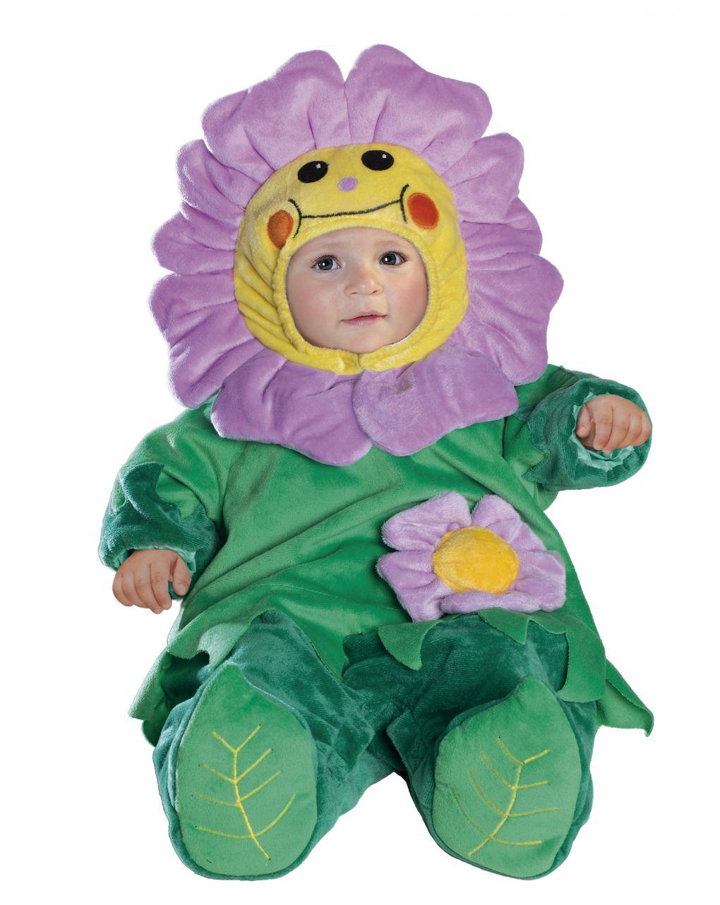 Costume fiorellino superbaby 3/6 mesi - Carnaval Queen
