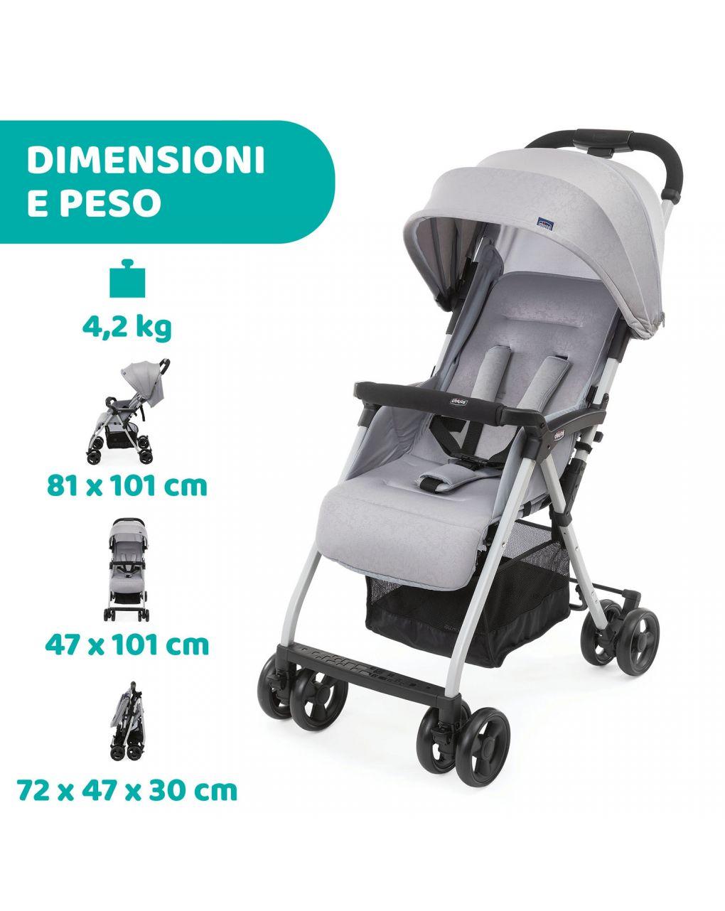 Passeggino ohlalà 3 grey mist - Chicco