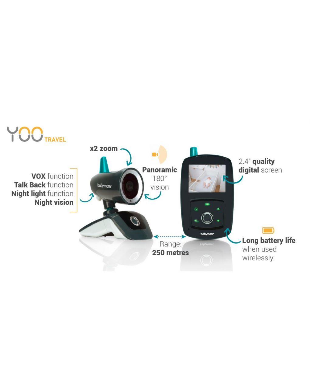 Babymoov yoo-travel baby video monitor - Babymoov