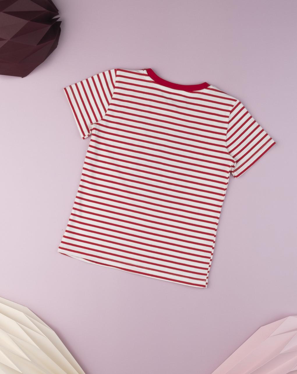 "T-shirt kid boy ""diavoletto rosso"" - Prénatal"