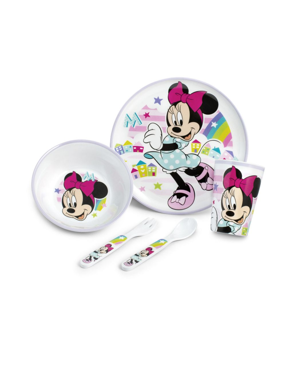Set 5 pezzi minnie simply - Lulabi Disney