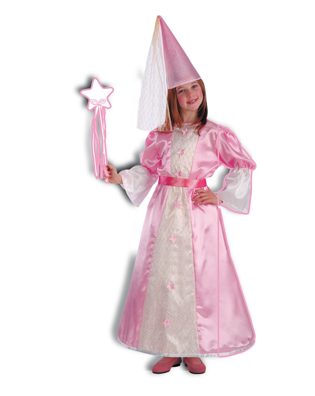 Costume fatina rosa (24 mesi/4 anni) - Carnival Toys