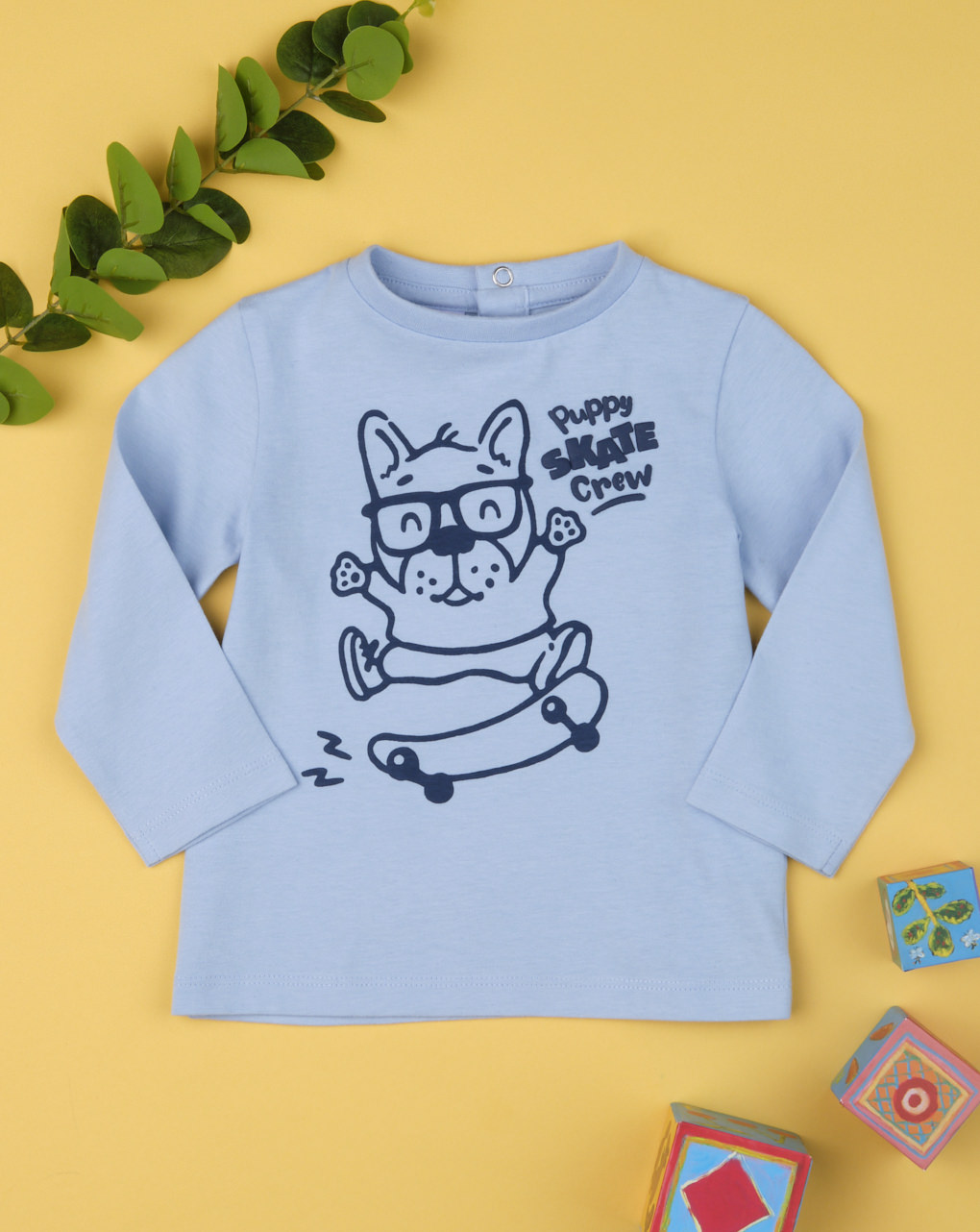 "T-shirt boy ""puppy skate crew"" - Prénatal"