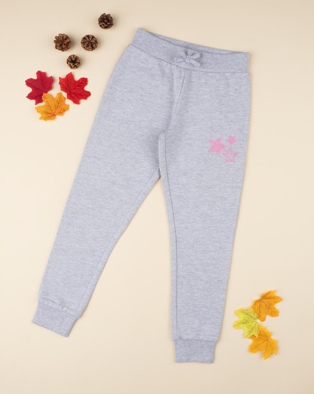 Pantalone felpato girl gray - Prénatal