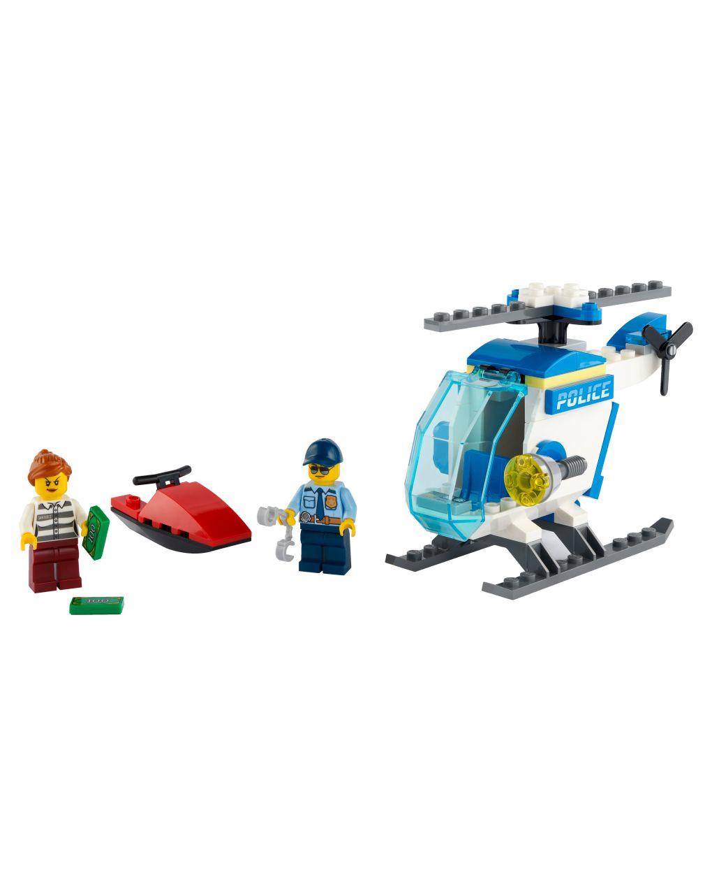 Lego city police - elicottero della polizia - 60275 - LEGO