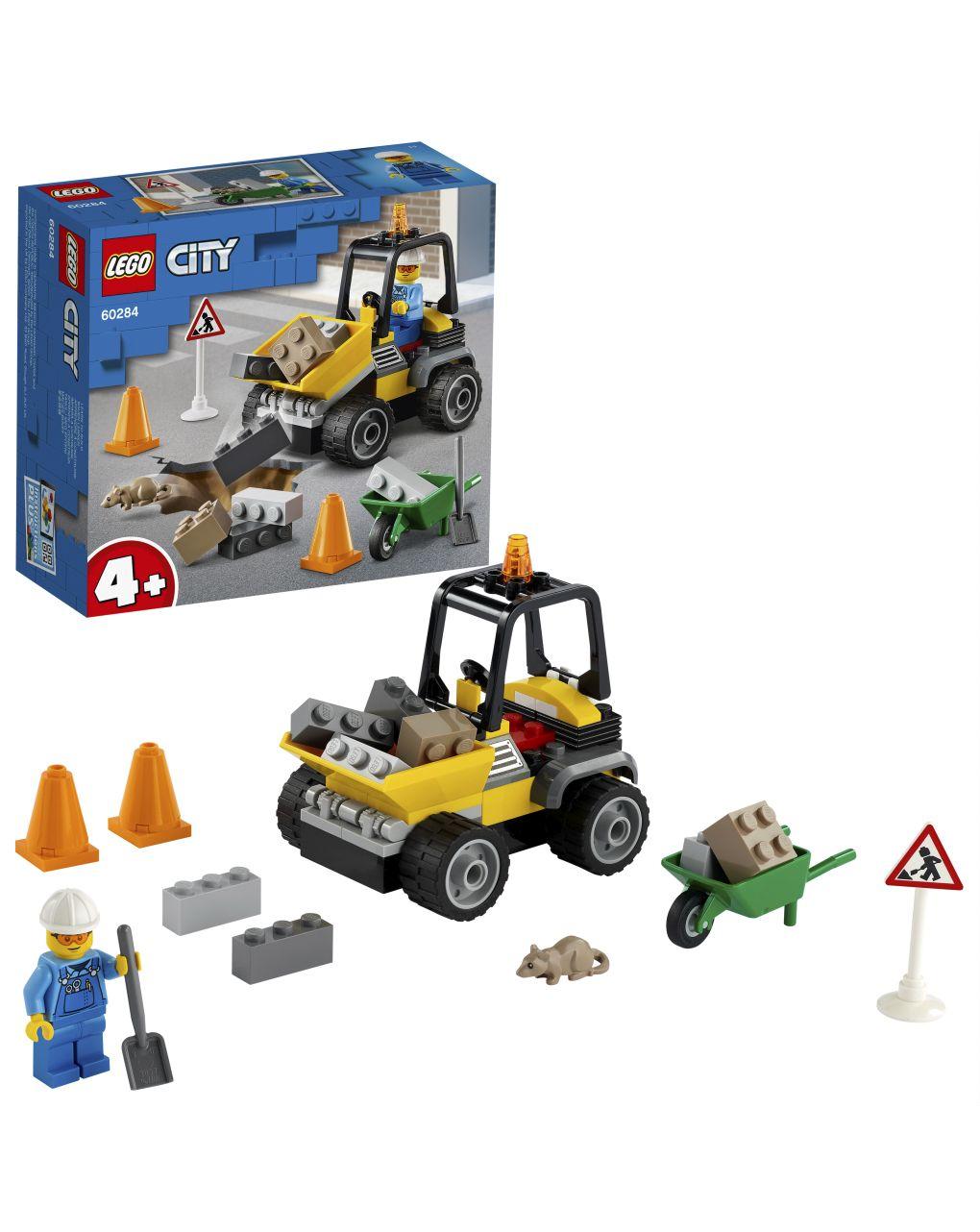 Lego city great vehicles - ruspa da cantiere - 60284 - LEGO