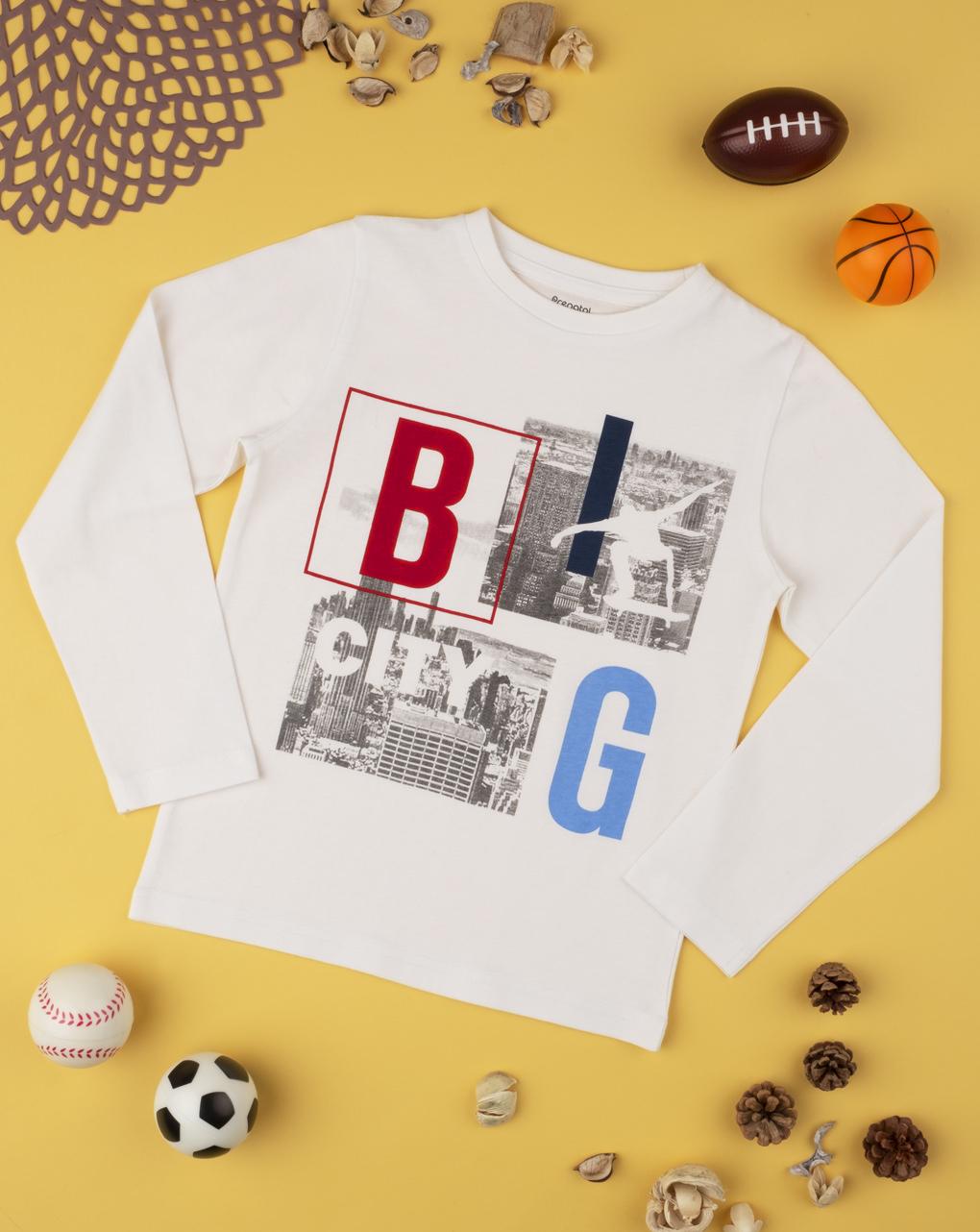 "T-shirt boy ""big city"" - Prénatal"