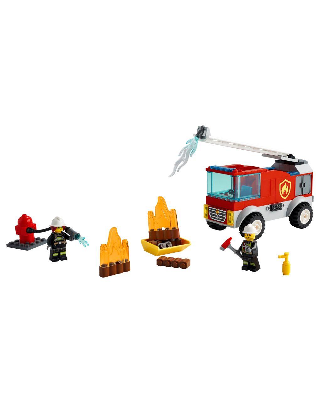 Lego city fire - autopompa con scala - 60280 - LEGO