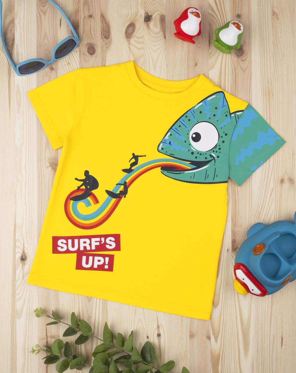 """T-shirt boy """"surf's up"""" - Prénatal"""