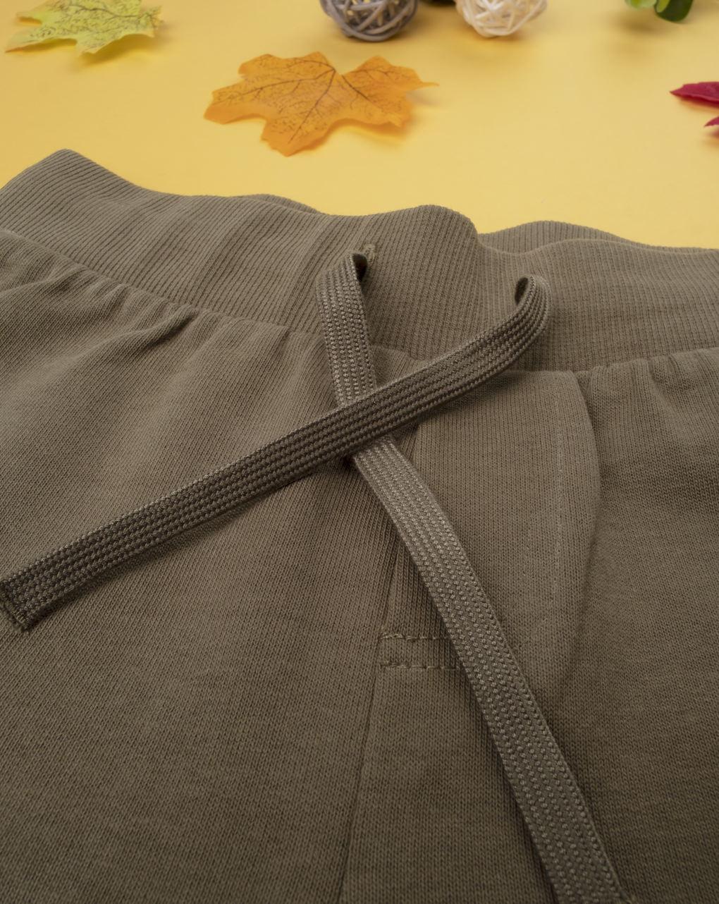 Pantalone felpato boy marrone - Prénatal