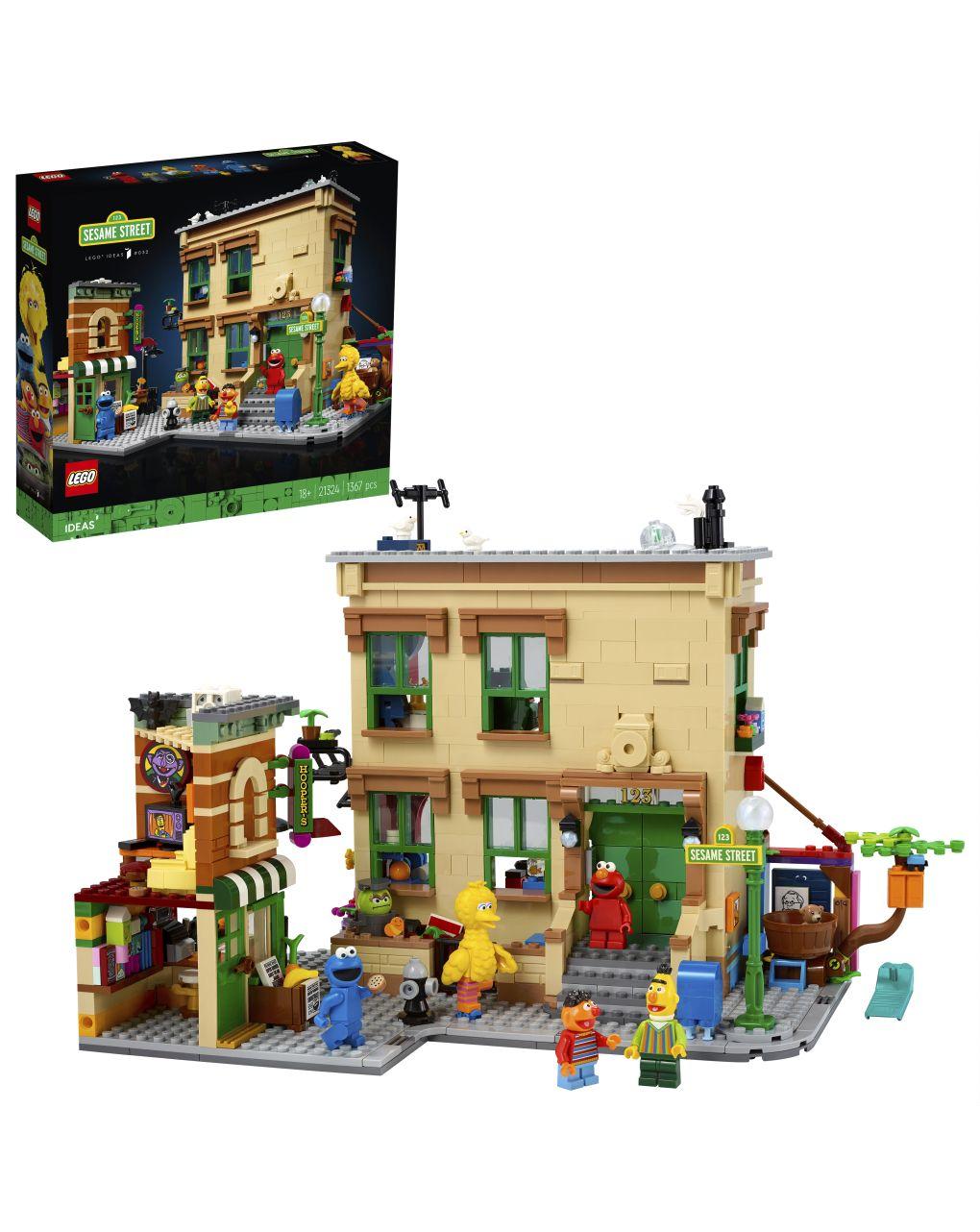 Lego ideas - 123 sesame street - 21324 - LEGO