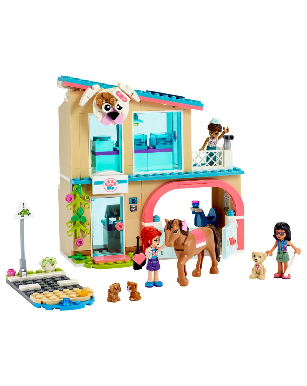Lego friends - la clinica veterinaria di heartlake city - 41446 - LEGO