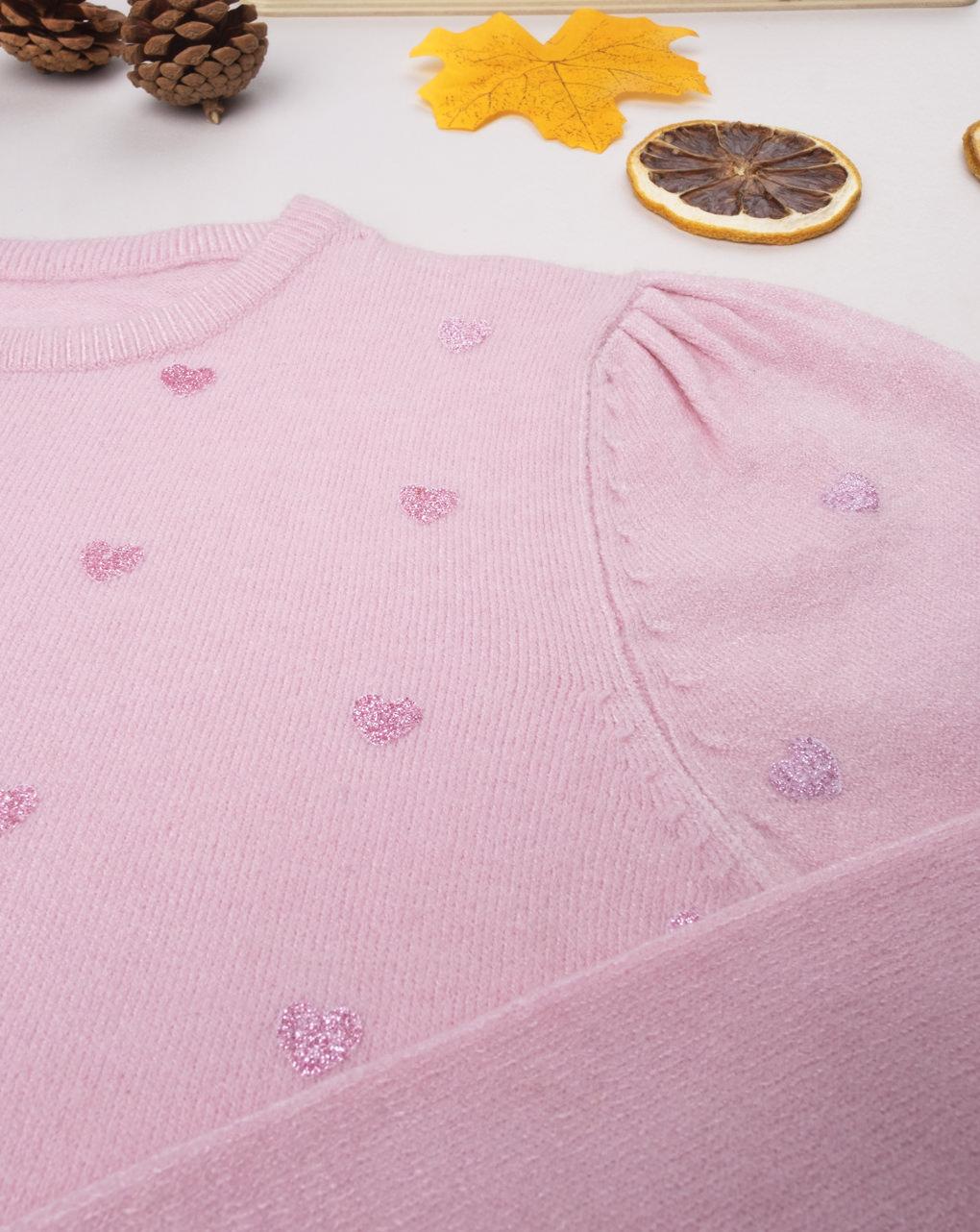 """Maglia tricot girl """"cuori"""" - Prénatal"""