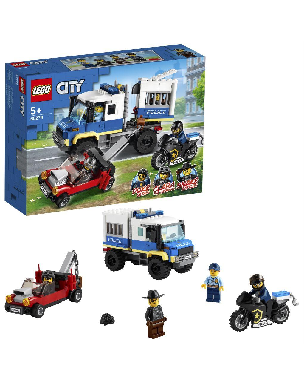 Lego city police - trasporto dei prigionieri della polizia - 60276 - LEGO