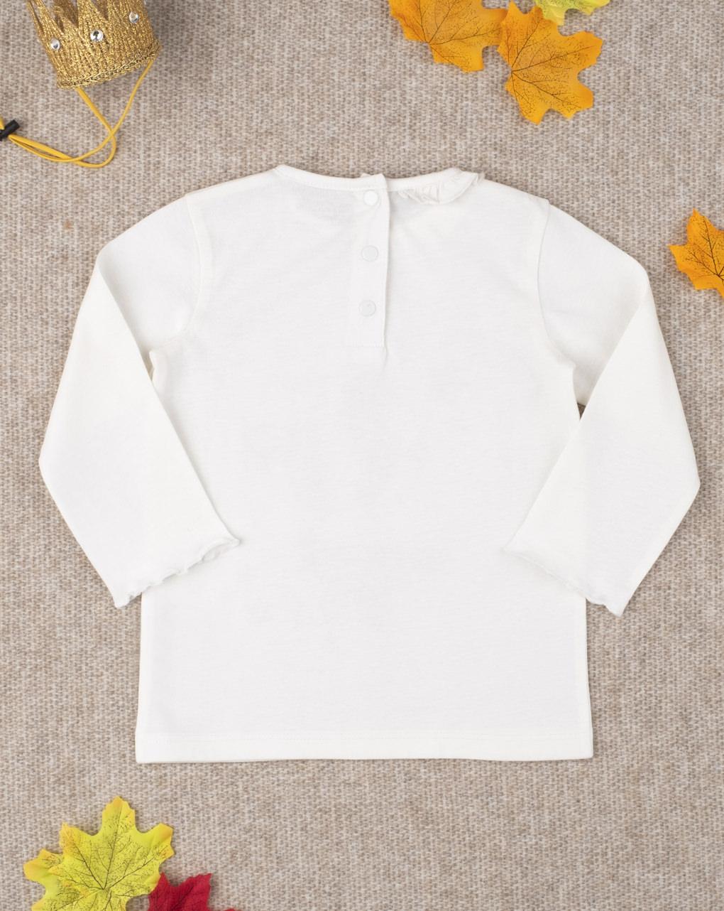 "T-shirt girl stampata ""orsetto fatina"" - Prénatal"