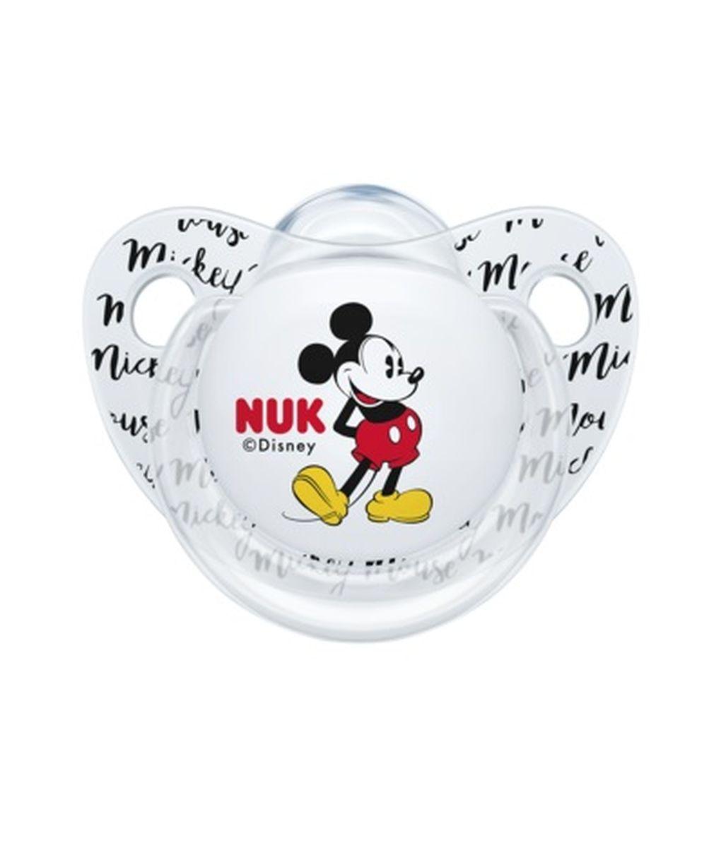 Succhietto mickey silicone 0-6 m 2 pz - Nuk