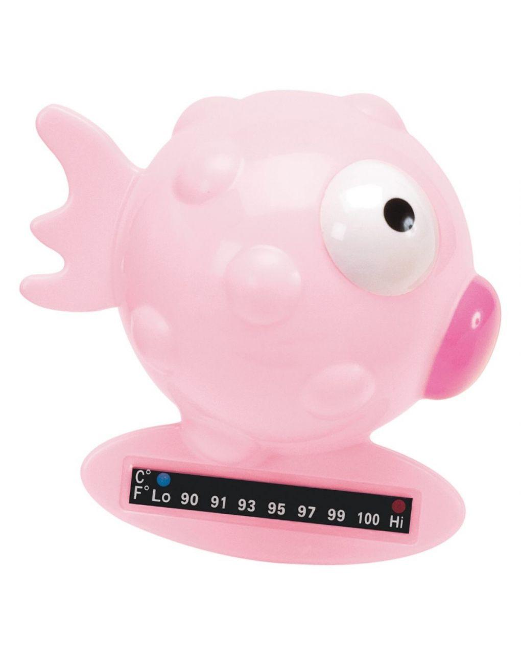Termometro da bagno pesce palla rosa - Chicco