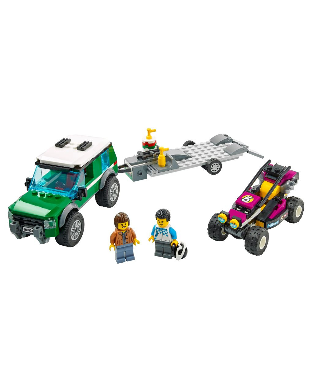 Lego city great vehicles - trasportatore di buggy da corsa - 60288 - LEGO