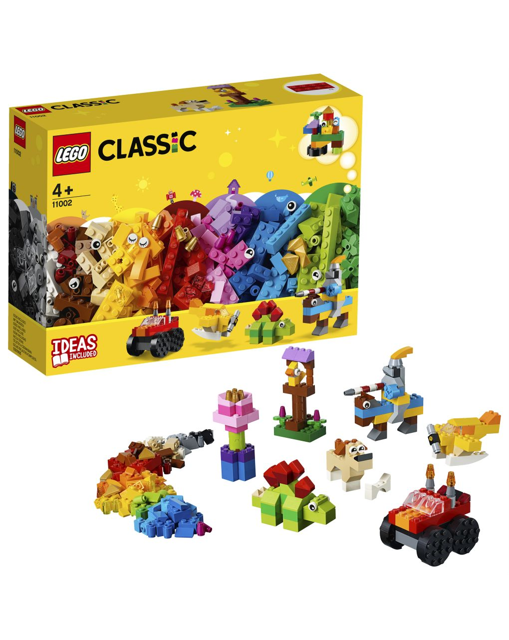Lego classic - set di mattoncini di base - 11002 - LEGO
